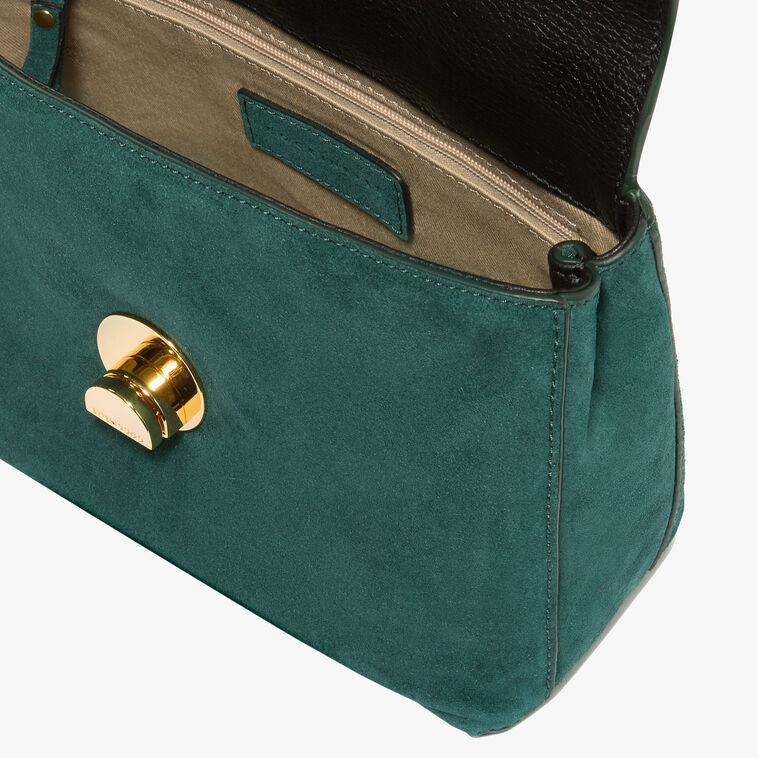 Liya suede mini handbag