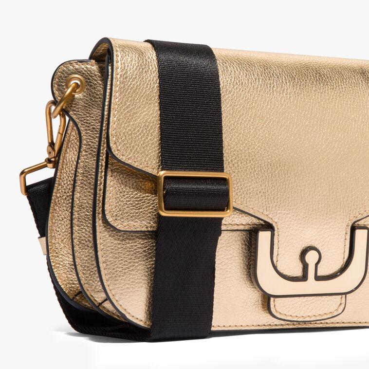 Ambrine leather shoulder bag
