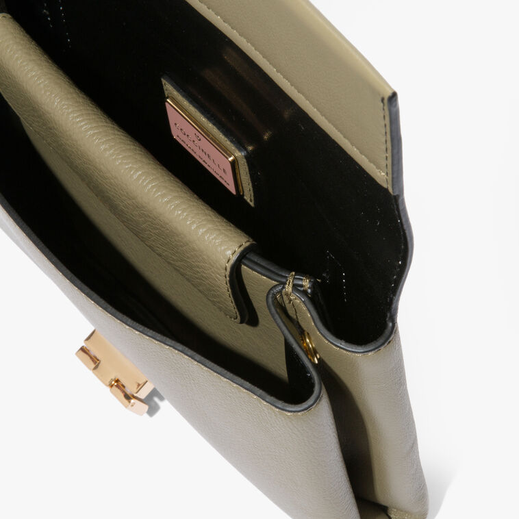 Arlettis leather clutch bag