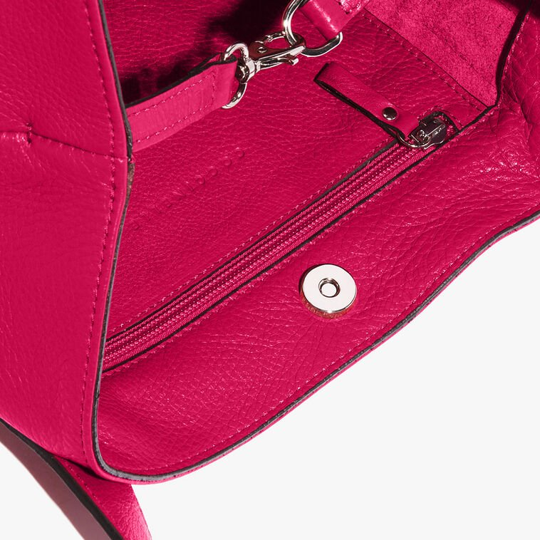 Mila leather shopping tote