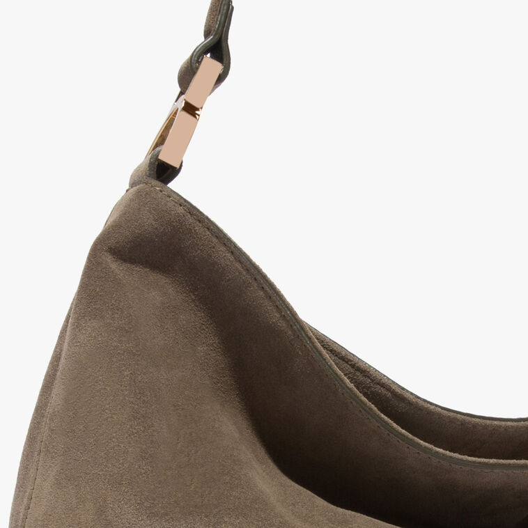 Arlettis suede hobo bag