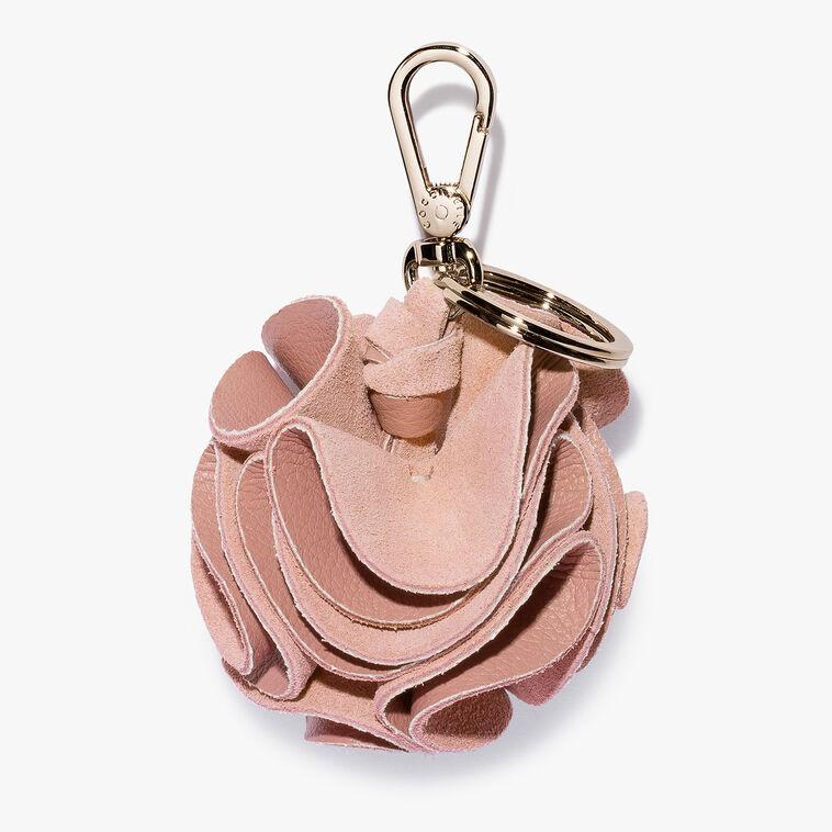 Pom-pom key ring