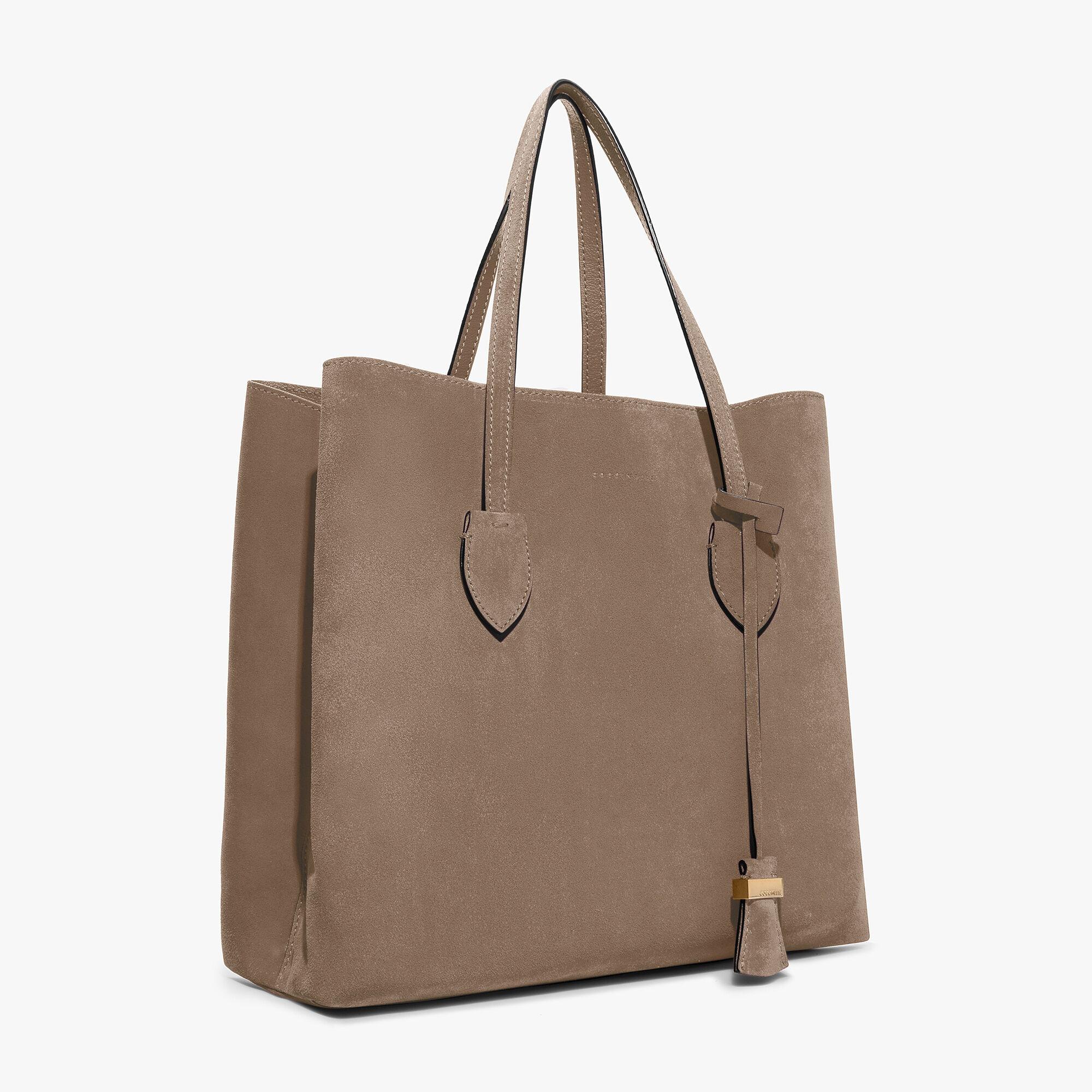 Coccinelle CELENE SHOPPER CAMOSCIO - Shopping Bag - bleu o5Pkl7GuO