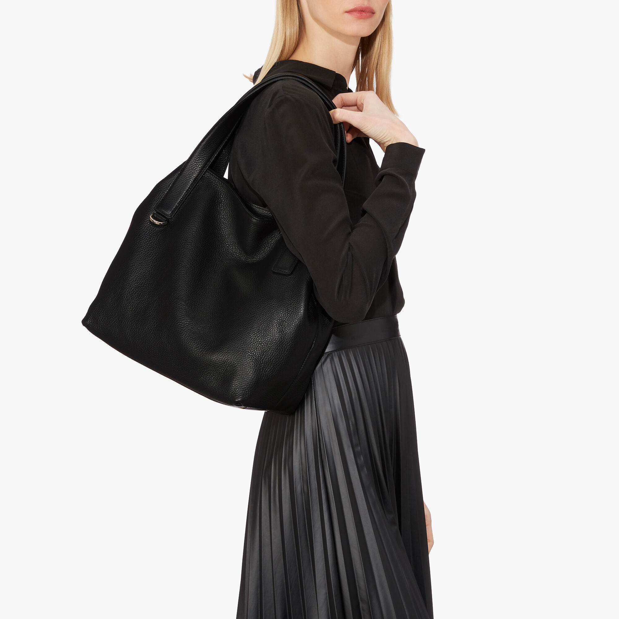coccinelle tote bag in leather