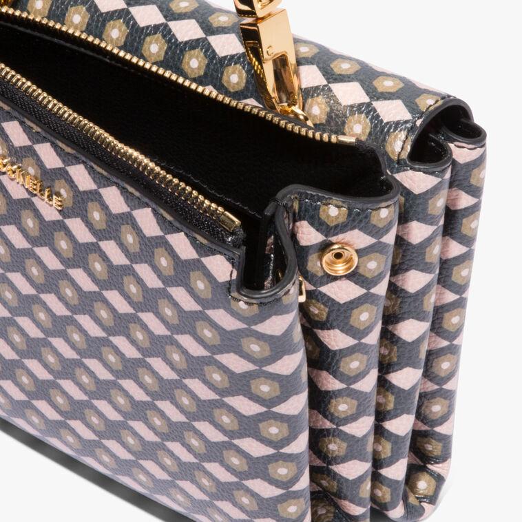 Arlettis printed leather mini bag