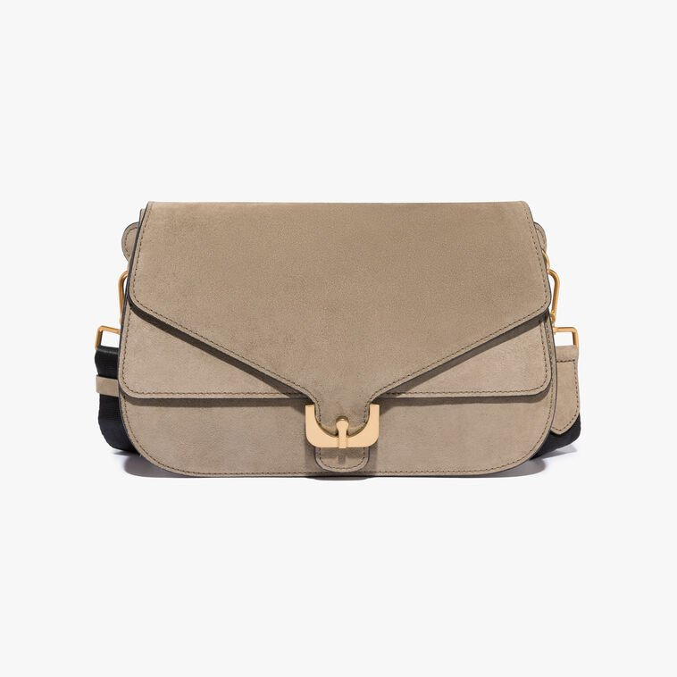 Ambrine suede shoulder bag