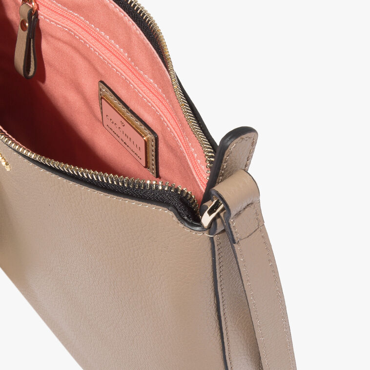 Clementine leather crossbody bag