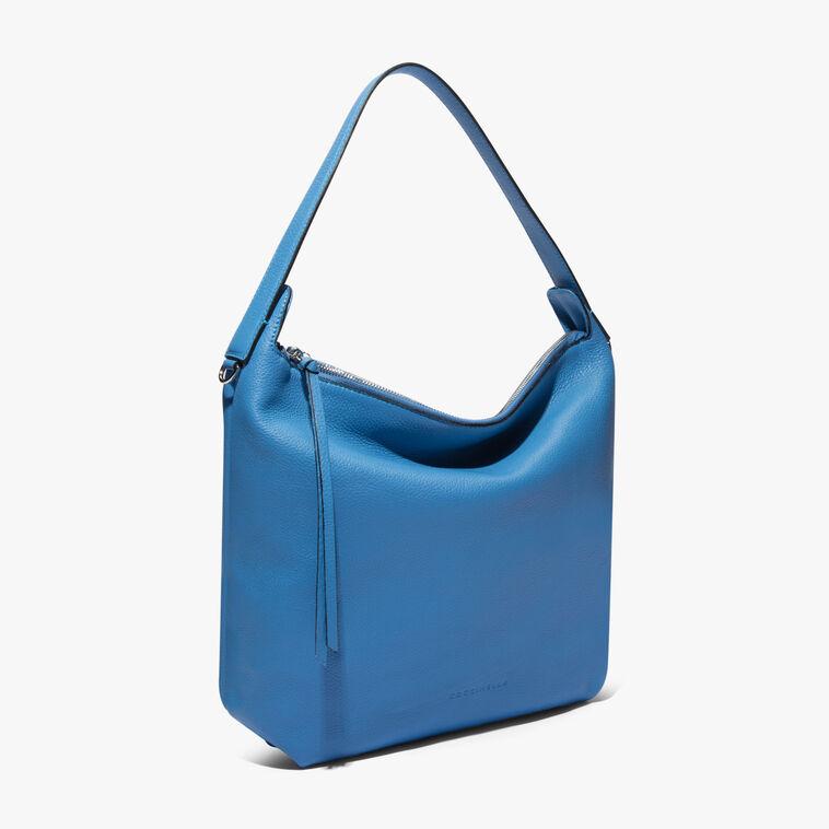 Mila Leather hobo bag