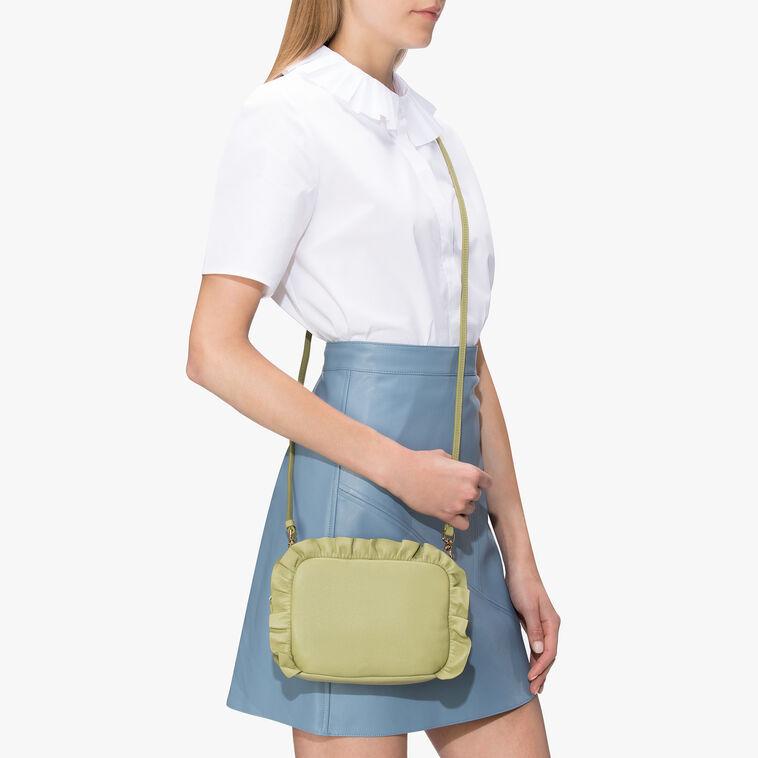 Brune leather minibag