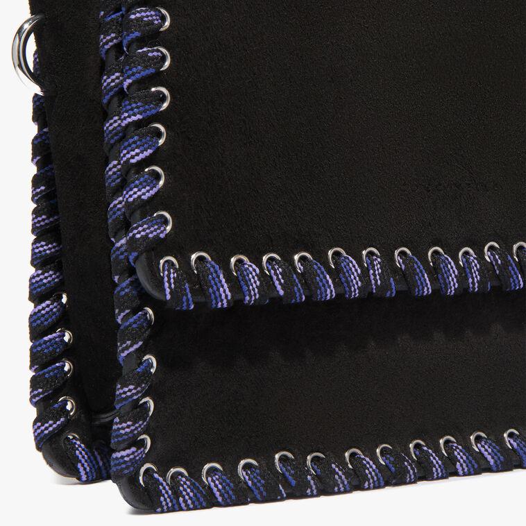 Flavienne suede crossbody bag