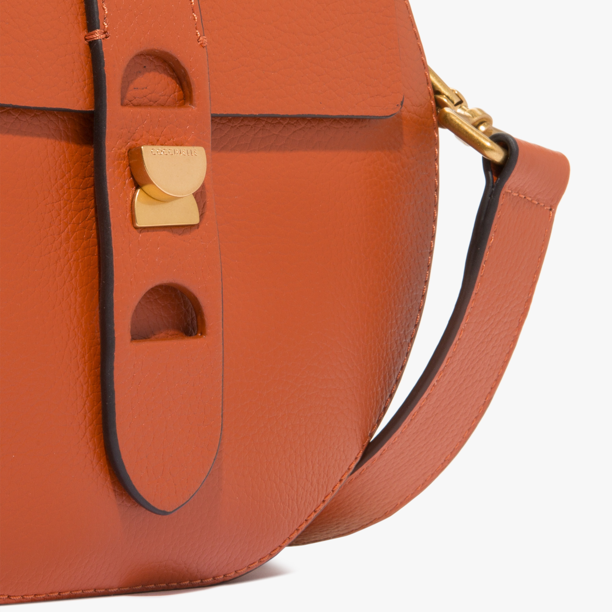 Carousel leather mini bag
