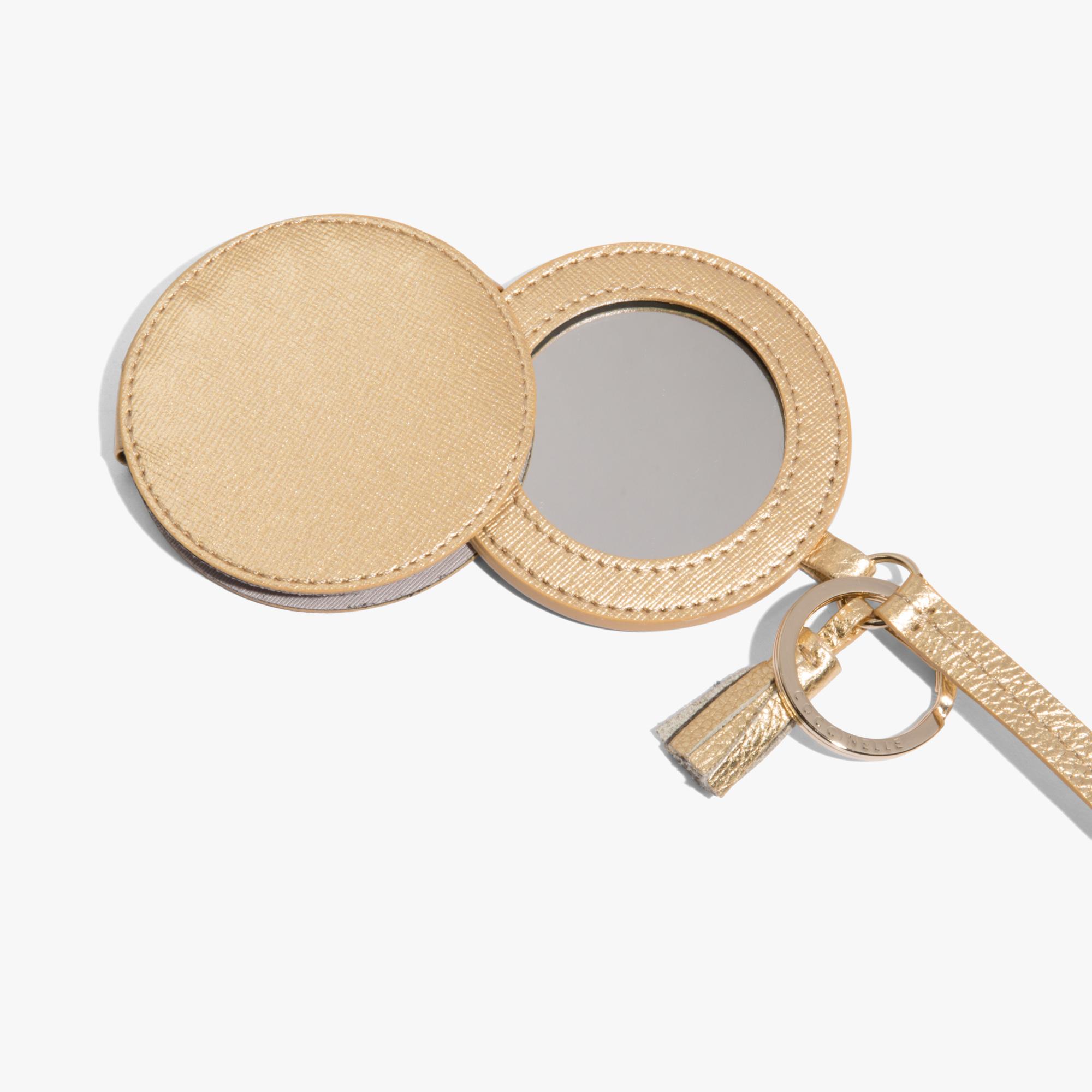 Porta Specchietto in saffiano