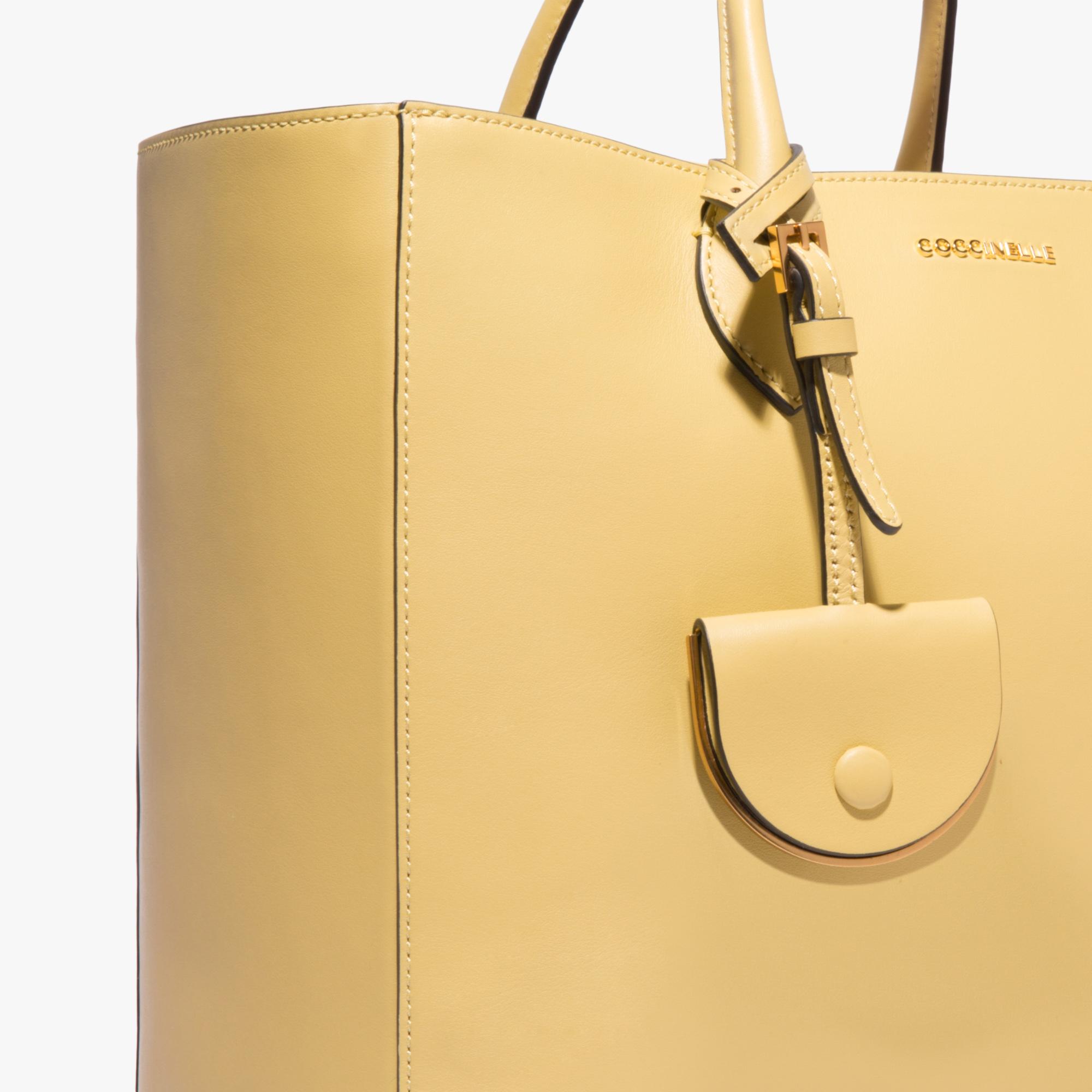 Jamila leather handbag