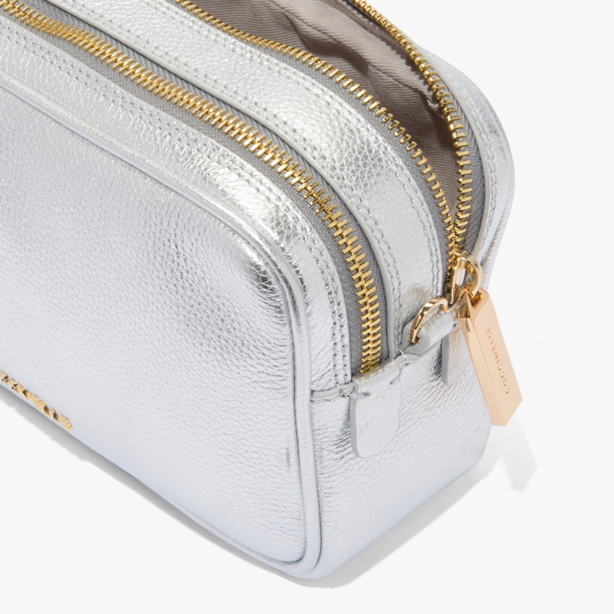 Surya Metal fibre leather mini bag