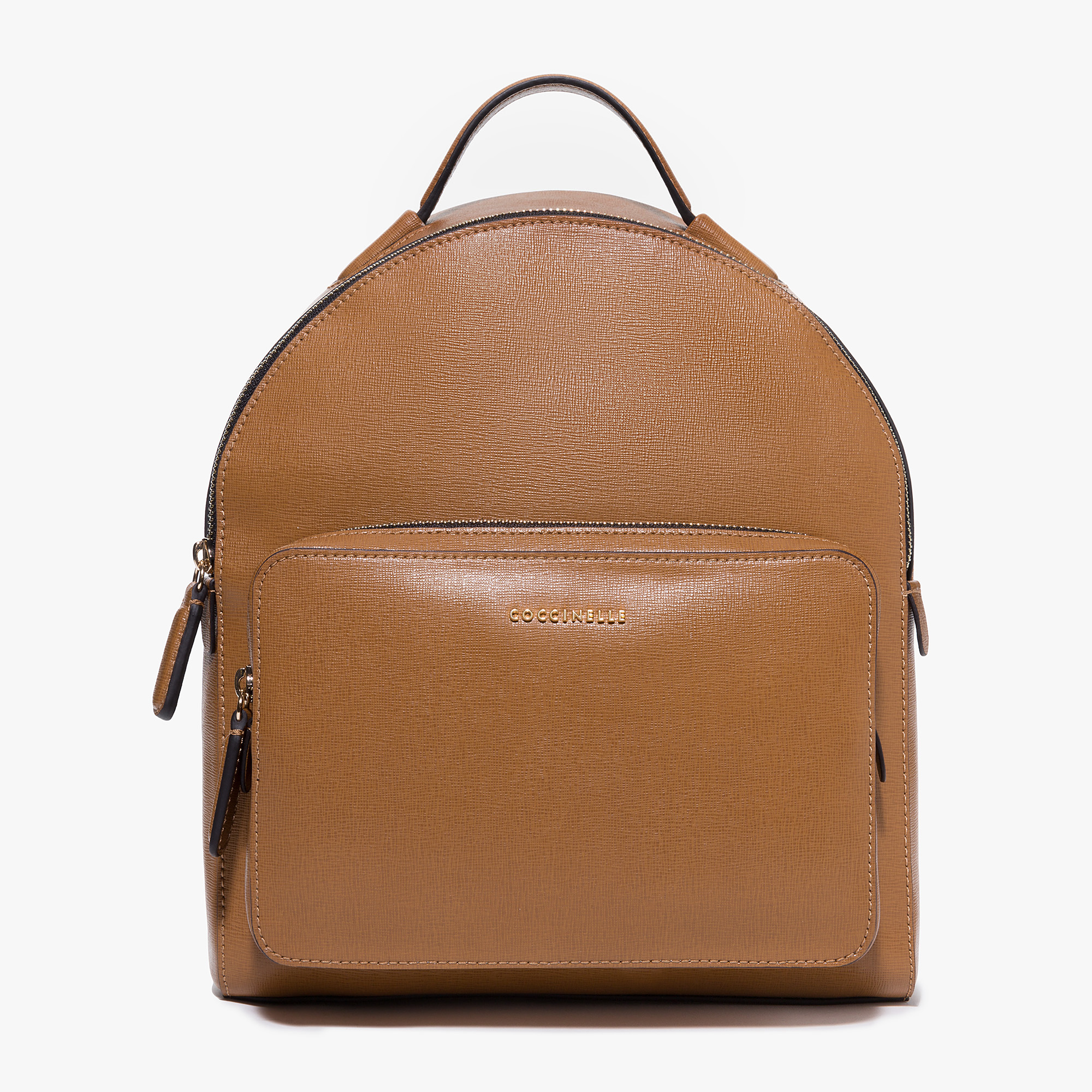 Clementine saffiano leather backpack