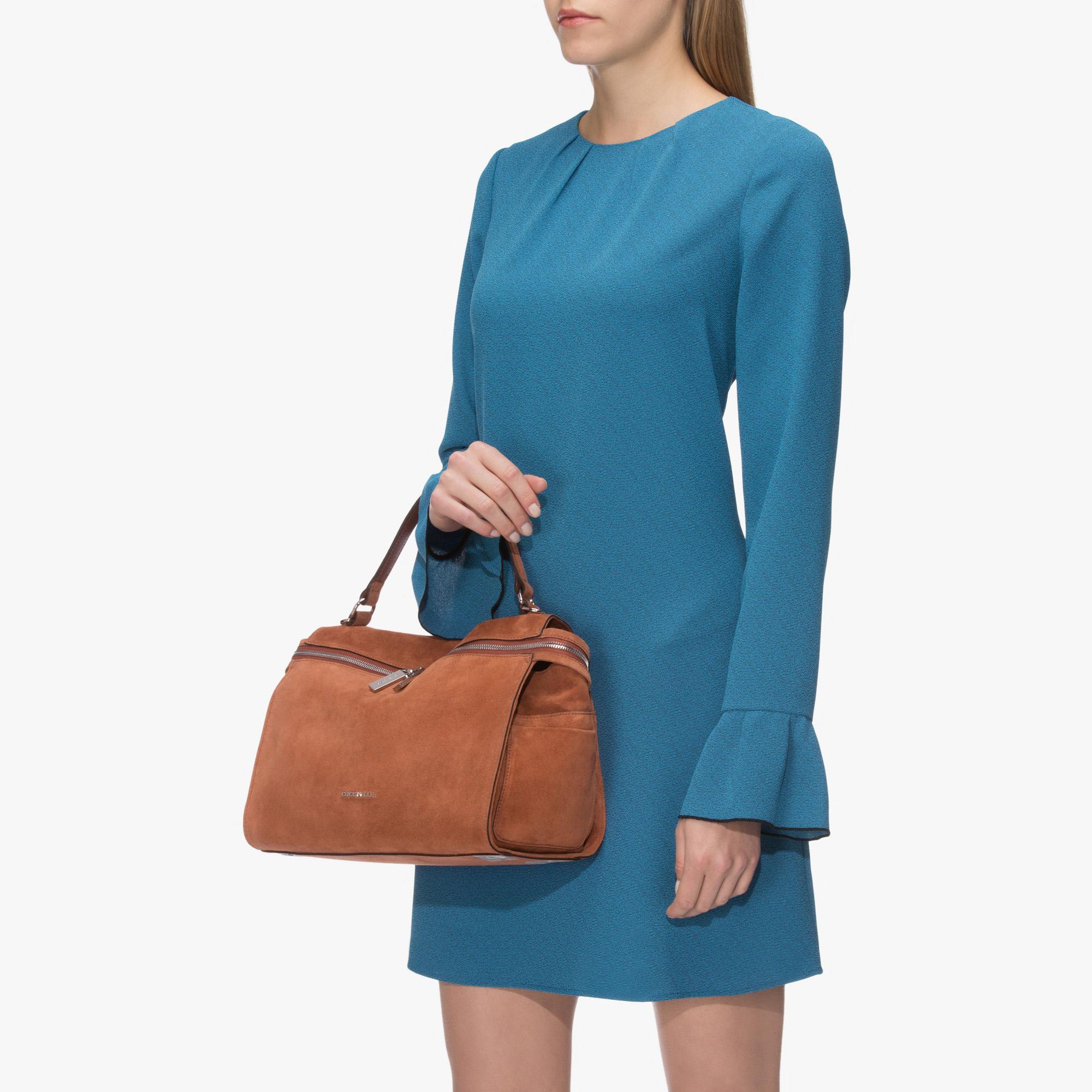 Atsuko Suede shoulder bag