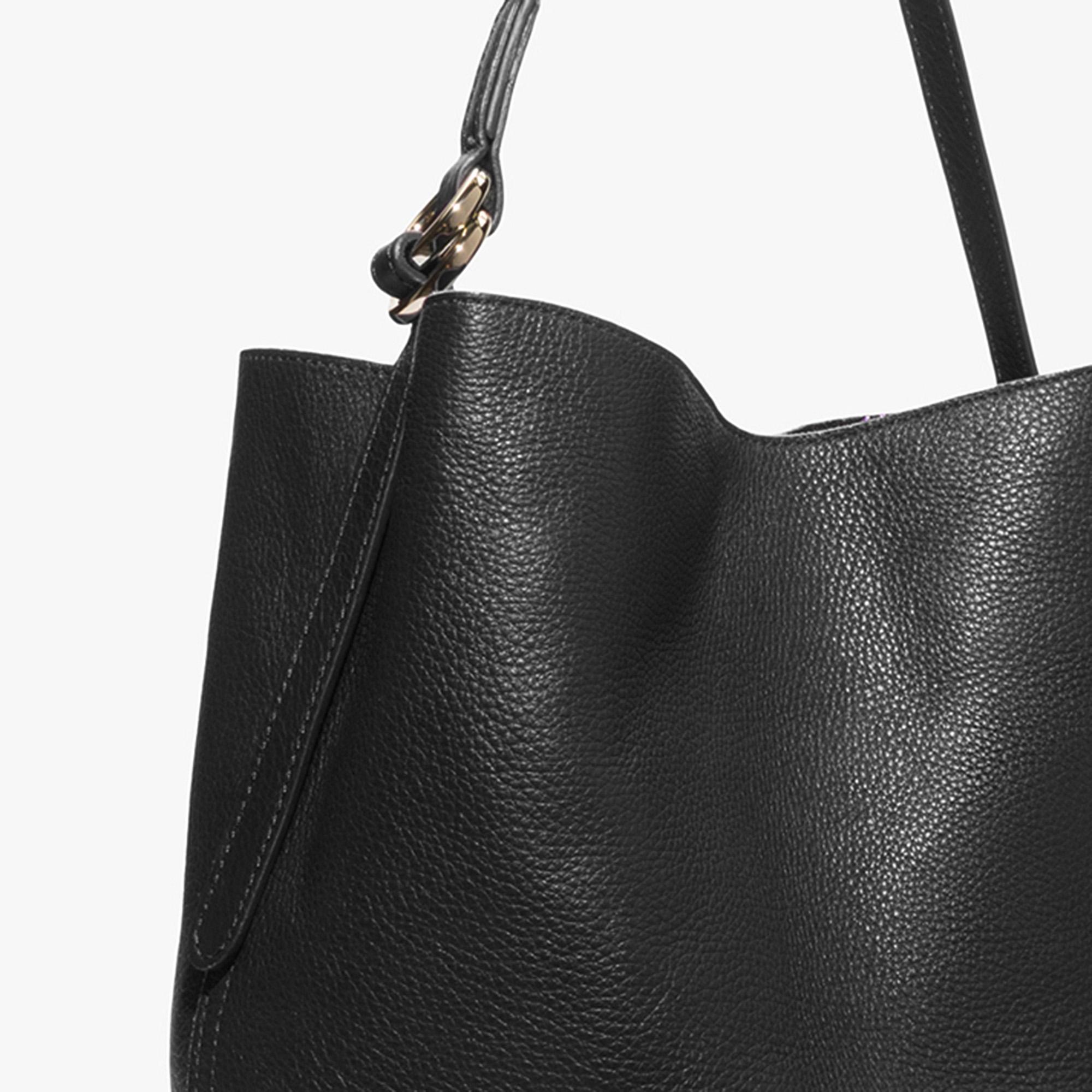 Davon leather hobo bag