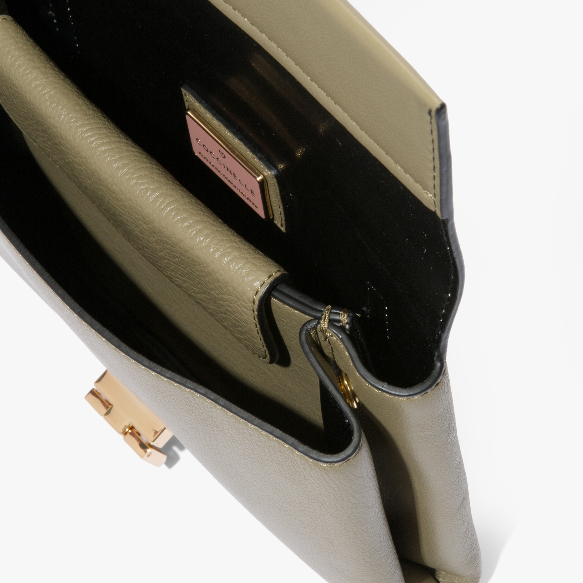 Arlettis leather clutch