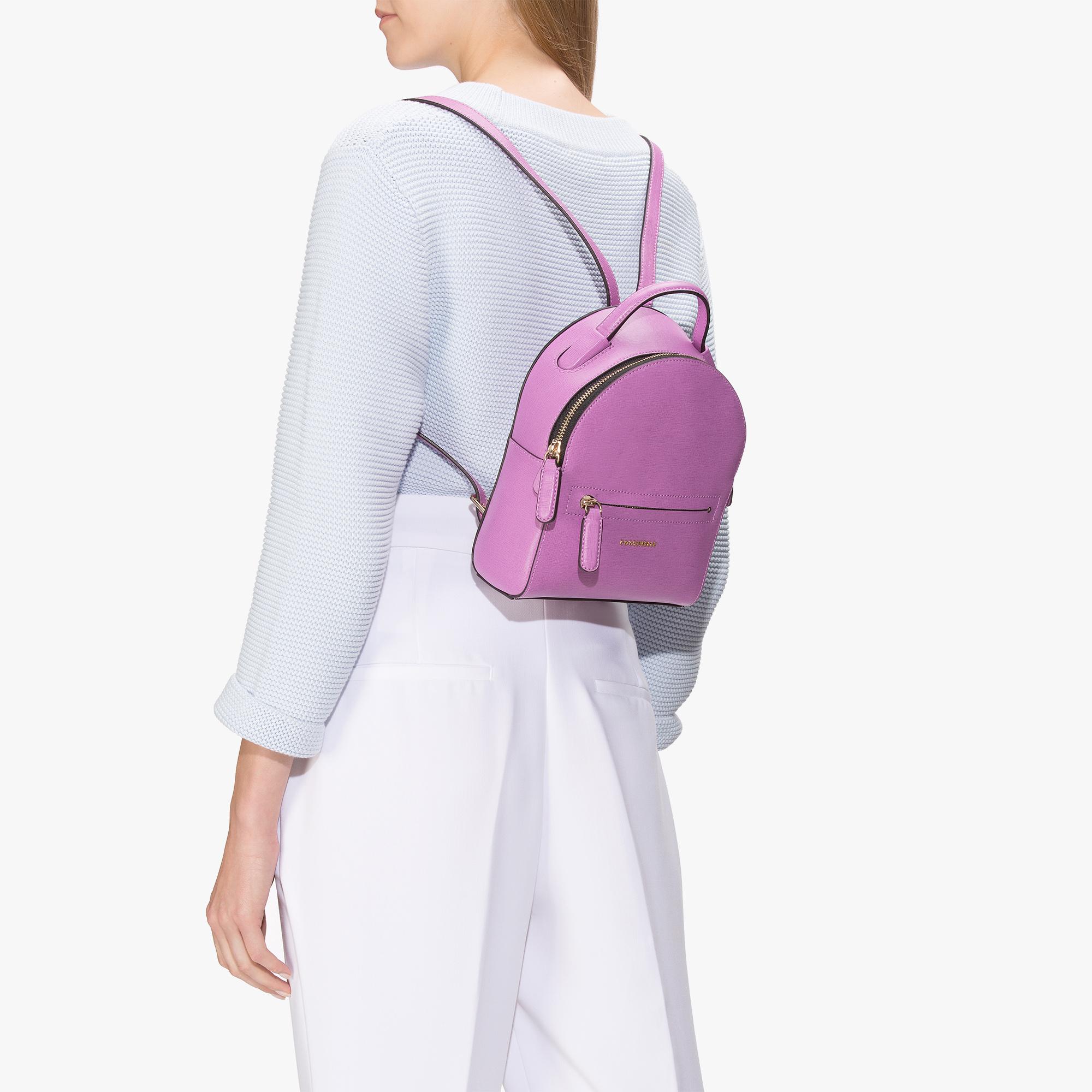 Clementine saffiano mini backpack