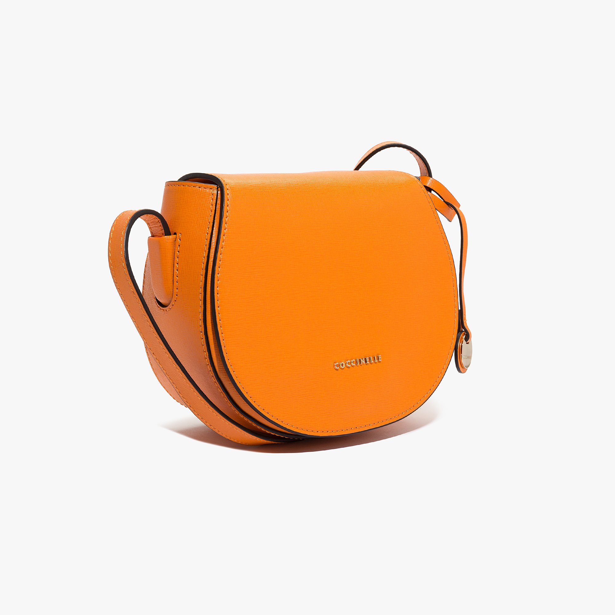 Clementine saffiano leather bandolier bag
