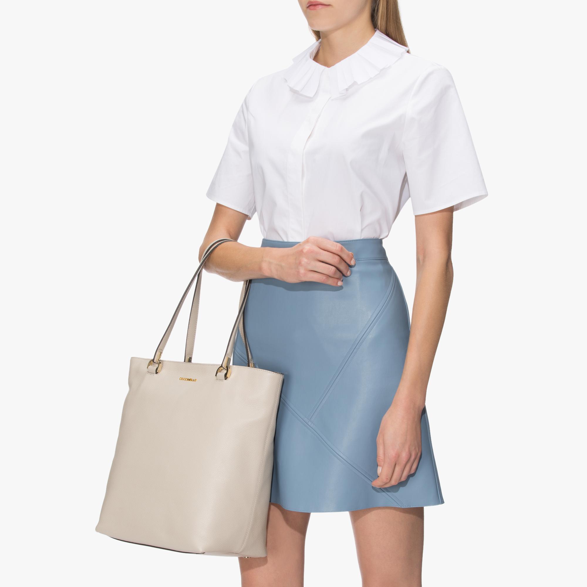 Keyla Leather shopping tote