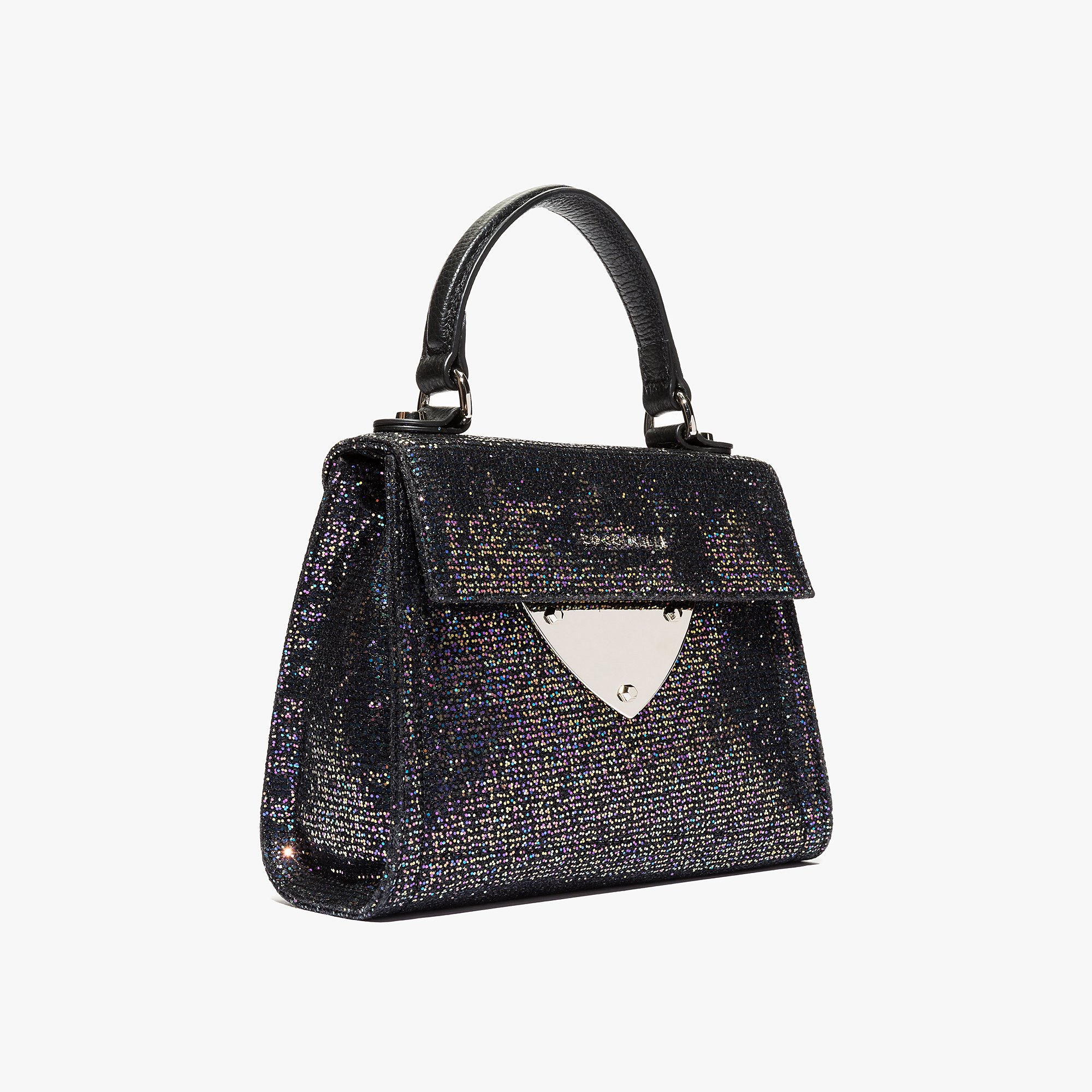 B14 mini bag in glittery leather