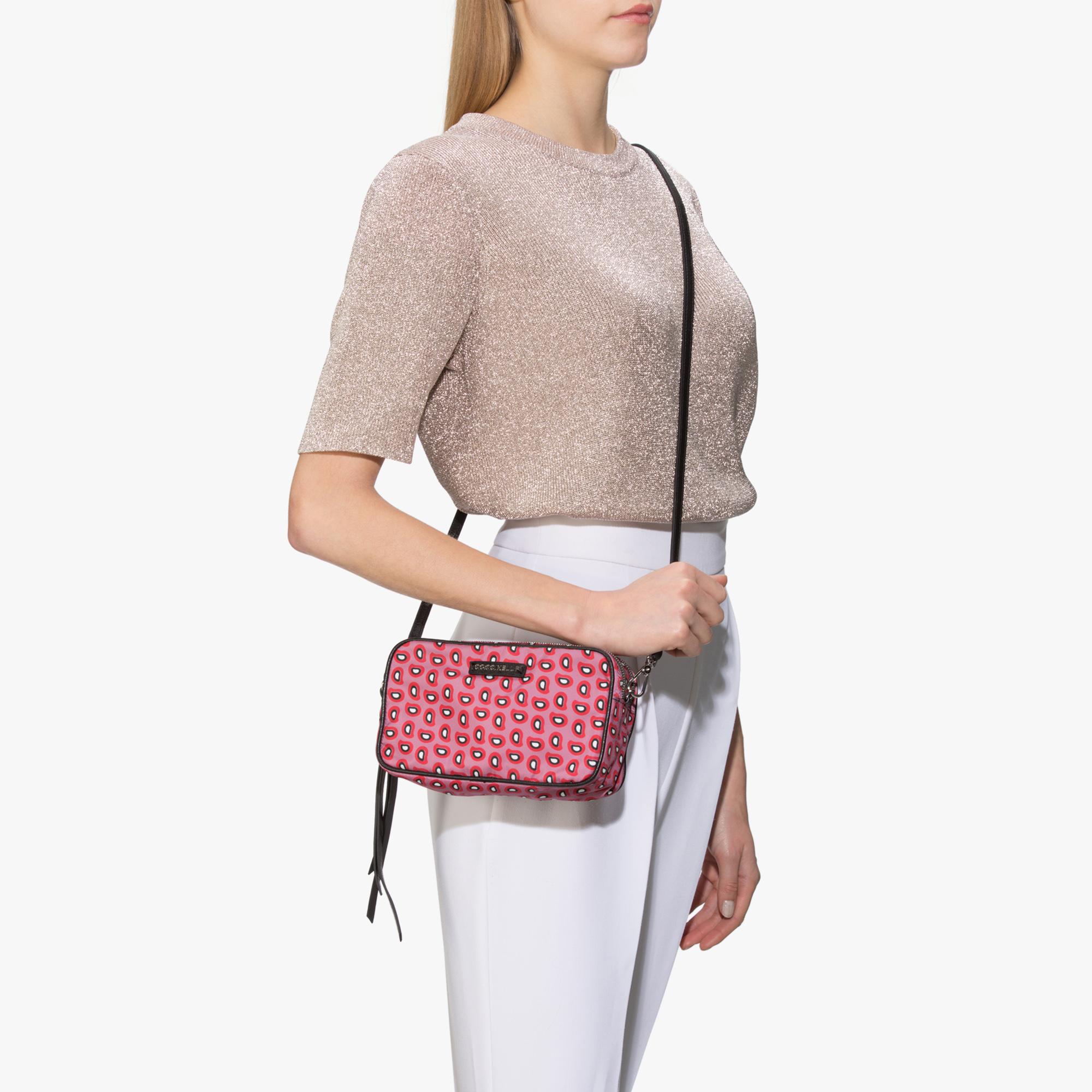 Samira Mini bag in nylon and saffiano leather
