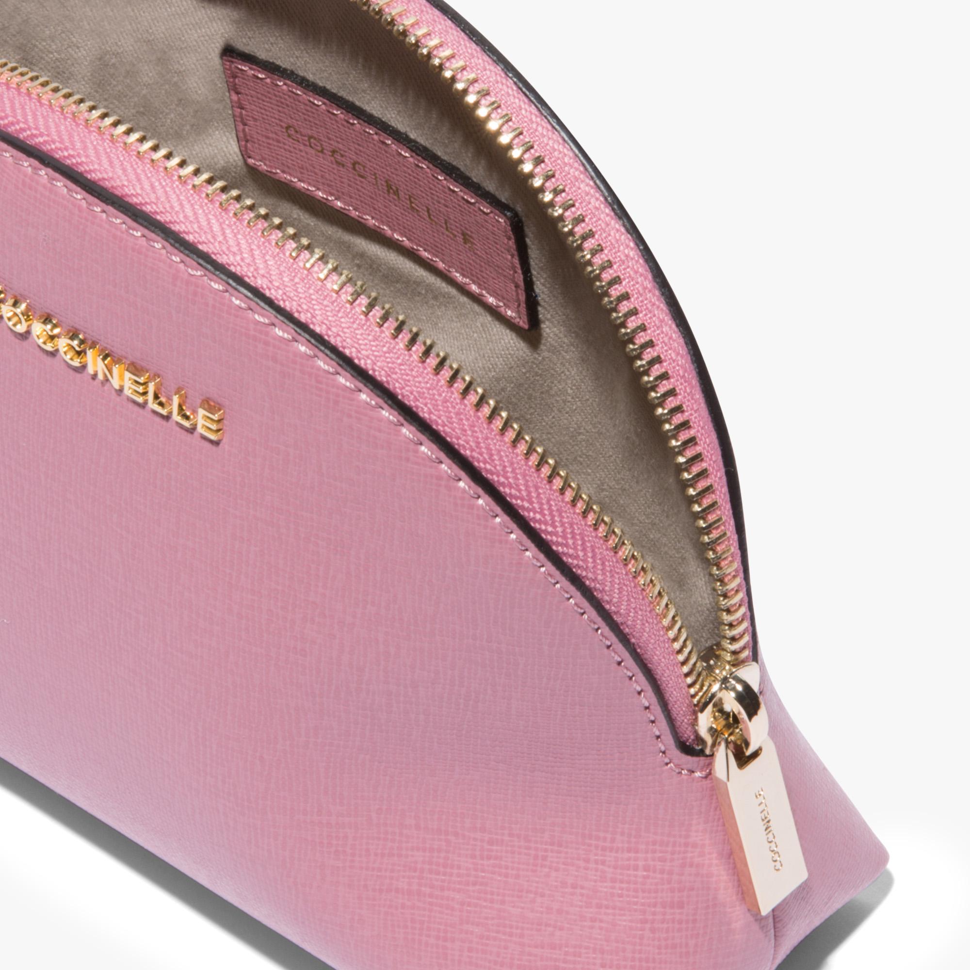 Saffiano leather vanity case trio