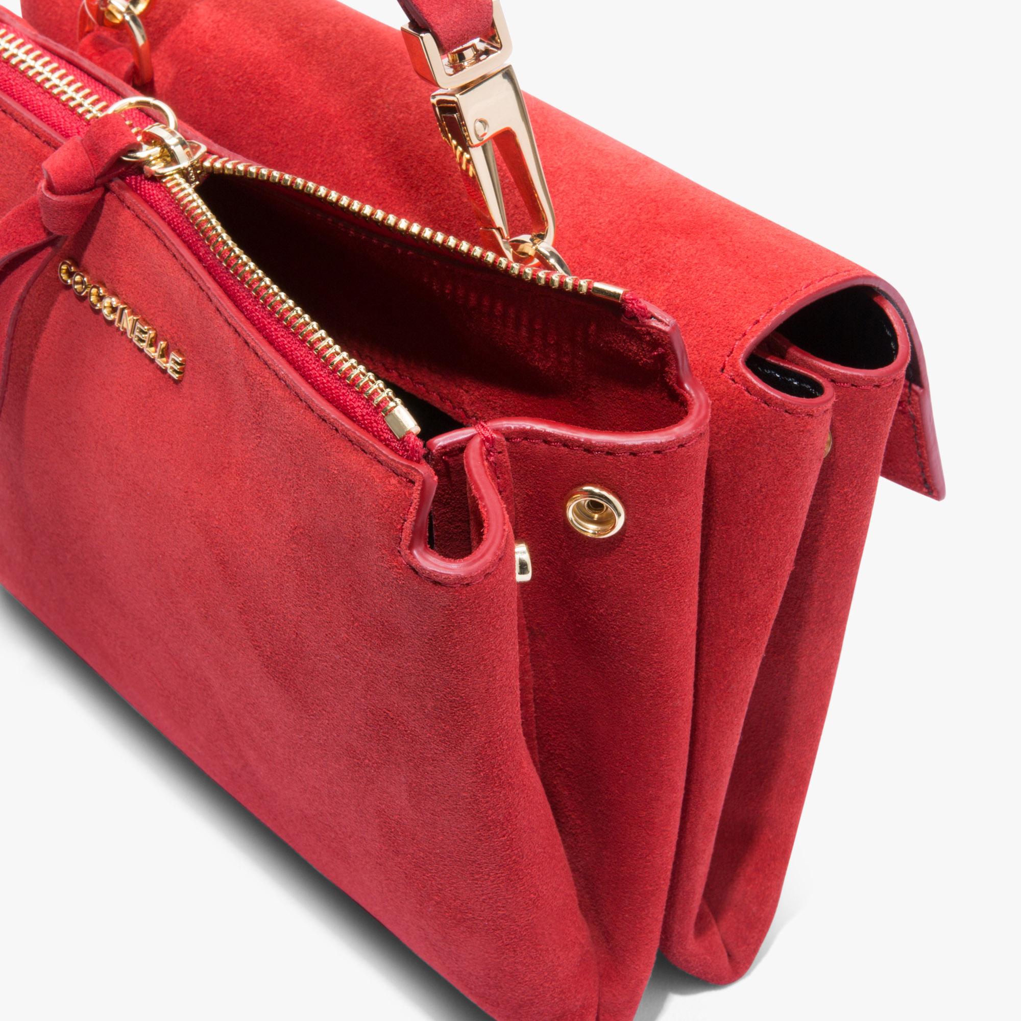 Arlettis minibag in camoscio